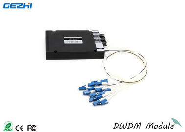 DWDM Mux / Demux 8CH with 1310nm & monitor port , 100 GHz ABS Pigtailed Module